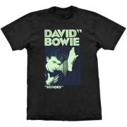Camiseta David Bowie Heroes