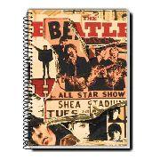 Caderno Credeal The Beatles 10 Matérias 200 Folhas