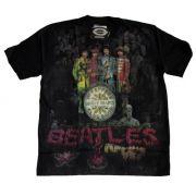 Camiseta Premium The Beatles Sgt. Peppers