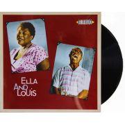 Lp Ella Fitzgerald & Louis Armstrong Ella And Louis