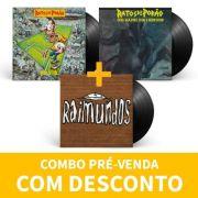 Kit Lp Vinil Raimundos Primeiro 1994 + Ratos de Porão Brasil + Ratos de Porão Cada Dia Mais Sujo e Agressivo