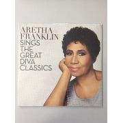 Lp Vinil  Aretha Franklin Sings The Great Diva Classics CAPA ESTRAGADA