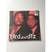 Lp Vinil Charlie Parker& Dizzy Gillespie Bird And Diz CAPA ESTRAGADA