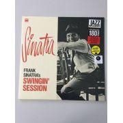Lp Vinil Frank Sinatra Swingin Session CAPA ESTRAGADA