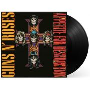 Lp Vinil Guns N' Roses Appetite For Destruction CAPA COM LEVE AMASSADO