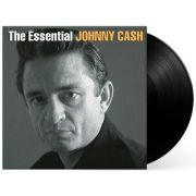 Lp Vinil Johnny Cash The Essential Johnny Cash CAPA COM LEVE AMASSADO