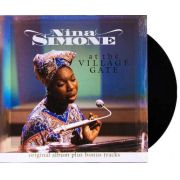 Lp Vinil Nina Simone At The Village Gate CAPA COM LEVE AMASSADO