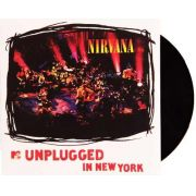 Lp Vinil Nirvana Unplugged In New York  CAPA COM LEVE AMASSADO