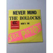 Lp Vinil Sex Pistols Never Mind The Bollocks CAPA AMASSADA
