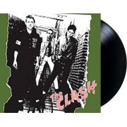 Lp Vinil The Clash 1977 CAPA COM PEQUENO RASGADO