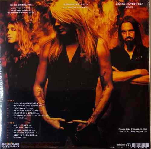 Lp Vinil Sebastian Bach Kicking & Screaming