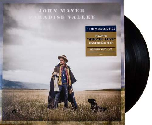 Lp John Mayer Paradise Valley