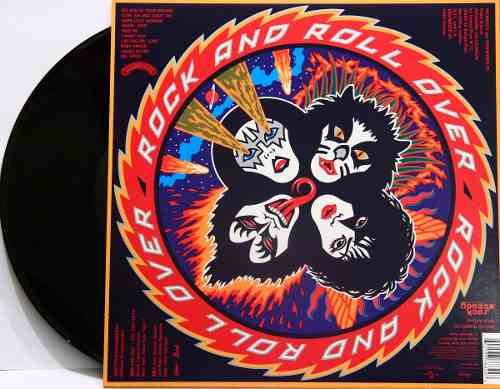 Lp Vinil Kiss Rock And Roll Over