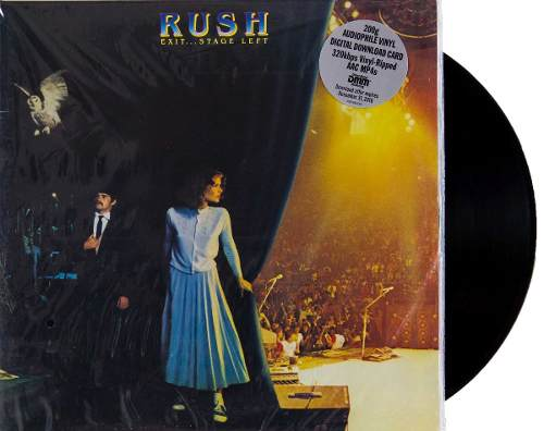 Lp Vinil Rush Exit Stage Left 200g