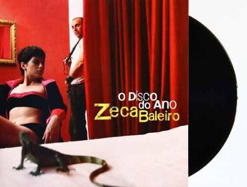 Lp Vinil Zeca Baleiro O Disco Do Ano