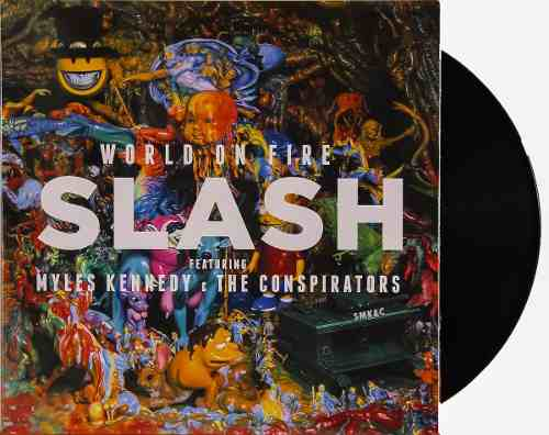 Lp Vinil Slash World On Fire