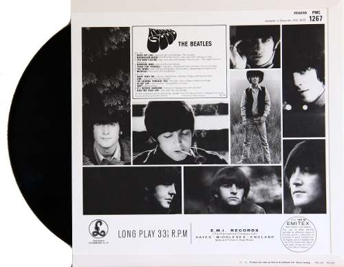 Lp Vinil The Beatles Rubber Soul MONO
