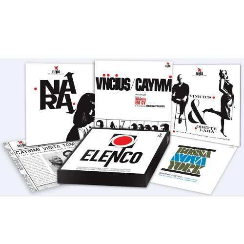 Lp Vinil Box Set Caixa Elenco Vinicius, Nara, Caymmi
