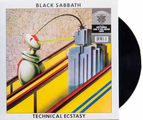 Lp Black Sabbath Technical Ecstasy