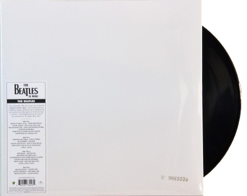 Lp Vinil The Beatles White Album MONO