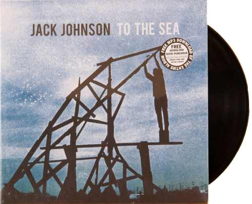 Lp Vinil Jack Johnson To The Sea