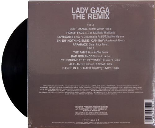 Lp Vinil Lady Gaga The Remix