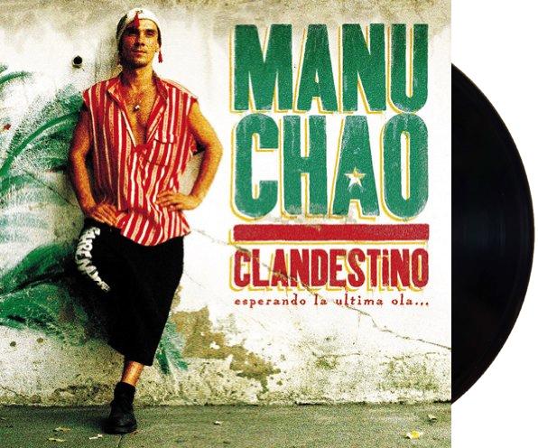Lp Vinil + Cd Manu Chao Clandestino