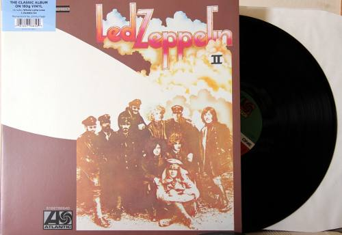 Lp Vinil Led Zeppelin II