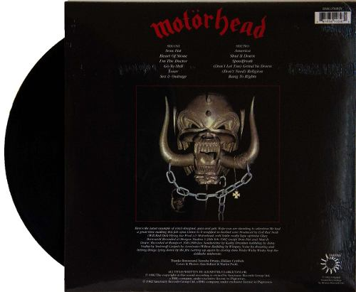 Lp Vinil Motorhead Iron Fist