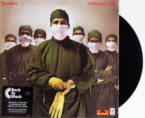 Lp Vinil Rainbow Difficult To Cure