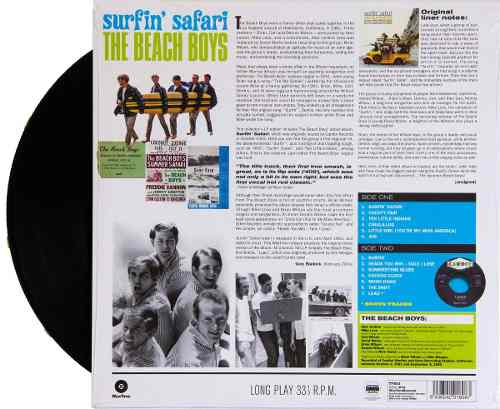 Lp Vinil The Beach Boys Surfin Safari