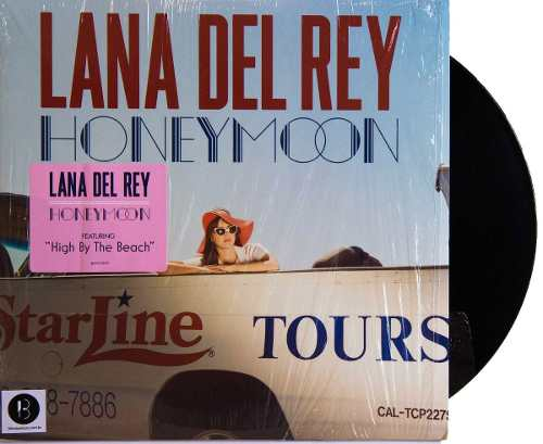 Lp Lana Del Rey Honeymoon
