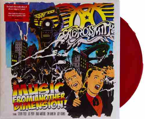 Lp Vinil Aerosmith Music From Another Dimension