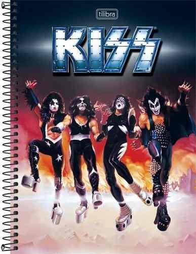Caderno Tilibra Kiss Destroyer 10 Matérias 200 Folhas