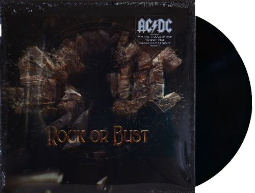 Lp Vinil ACDC Rock Or Bust Capa Lenticular