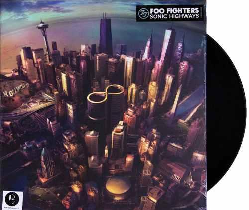 Lp Vinil Foo Fighters Sonic Highways