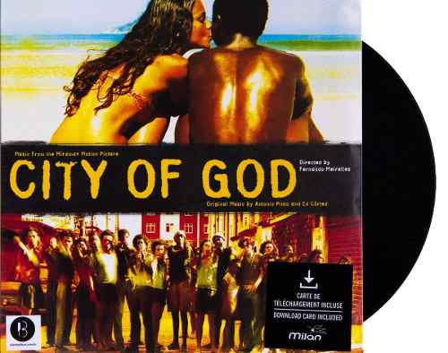Lp Vinil Cidade De Deus City Of God