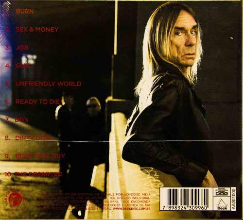 Cd Iggy Pop And The Stooges Ready To Die