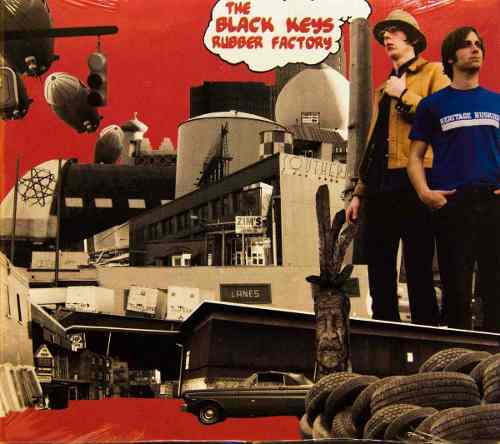 Cd The Black Keys Rubber Factory