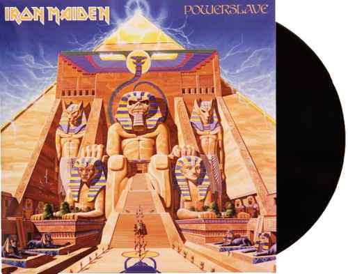 Lp Vinil Iron Maiden Powerslave