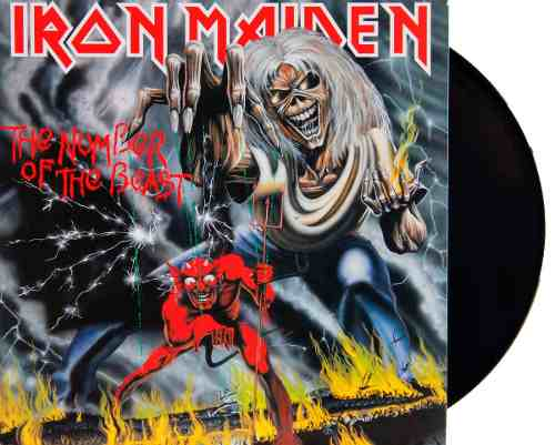 Lp Vinil Iron Maiden The Number Of The Beast