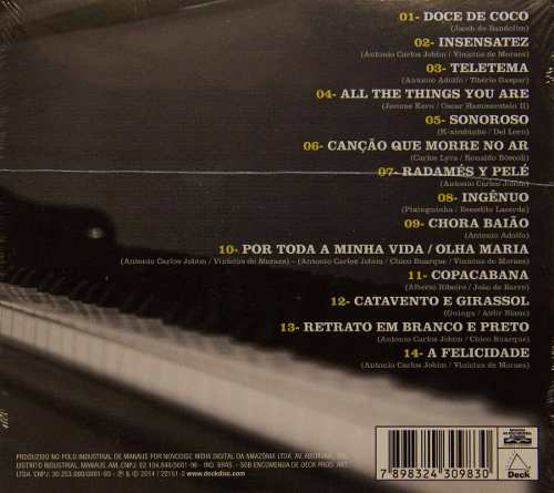 Cd O Piano De Antonio Adolfo