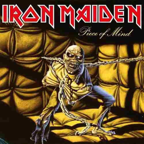 Lp Iron Maiden Piece Of Mind