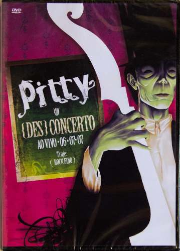Dvd Pitty {des}concerto Desconcerto Ao Vivo
