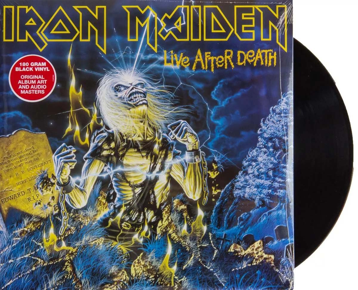 Lp Vinil Iron Maiden Live After Death