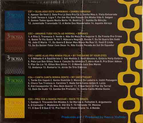 Cd Box Set 3 Na Bossa Volume 2