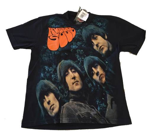Camiseta Premium The Beatles Rubber Soul