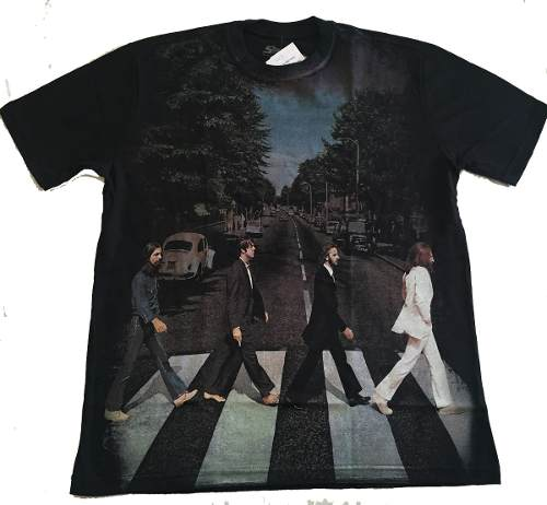 Camiseta Premium The Beatles Abbey Road
