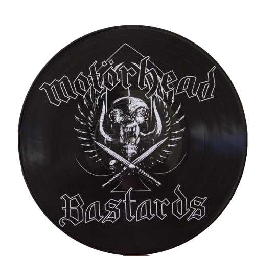 Lp Vinil Picture Disc Motorhead Bastards