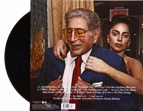 Lp Vinil Tony Bennett & Lady Gaga Cheek To Cheek